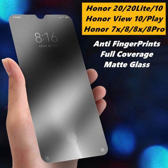 Huawei Honor 20 / Honor 20 Lite / Honor 8 / Honor 8 Pro / Honor 10 / Honor  V10 / View 10 / Honor Play Full Covered Matte Tempered Glass Screen