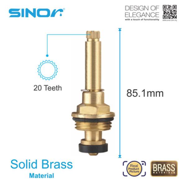 Sinor S-201-L Full Turn Rubber Disc Valve