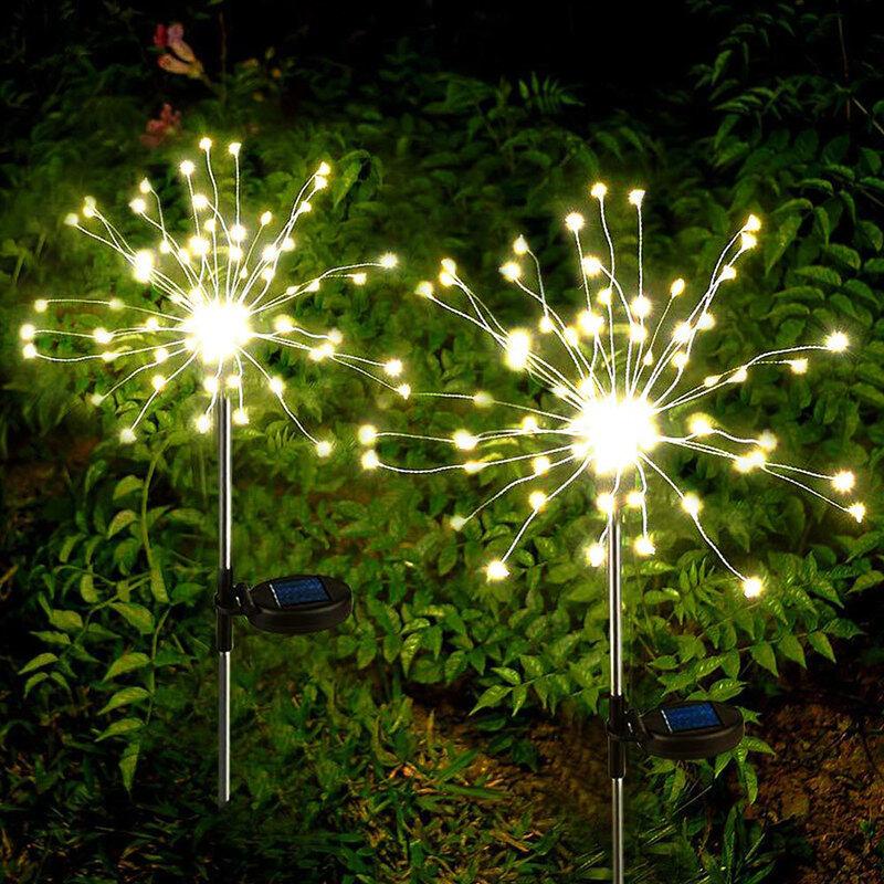 Đèn năng lượng mặt trời cho sân vườn, đèn LED trang trí sân vườn ngoài trời, cảnh quan Giáng sinh, chống thấm nước, Đèn Led sân hiên