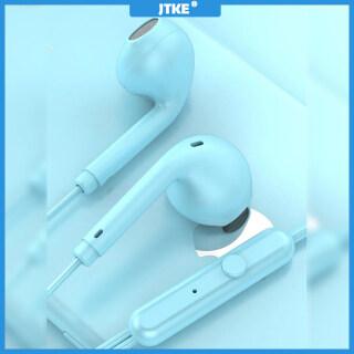 Tai Nghe JTKE Tai Nghe Nhét Tai HIFI Macaron Màu 3.5Mm, Tai Nghe Hoạt Hình Có Mic, Dành Cho Iphone Xiaomi Huawei thumbnail