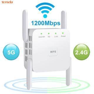 Bộ Khuếch Đại WiFi Bộ Lặp 4 Ăng-ten 1200M Điểm Truy Cập Tăng Cường Tín Hiệu WiFi Các Thành Phần Mạng Cắm EU thumbnail