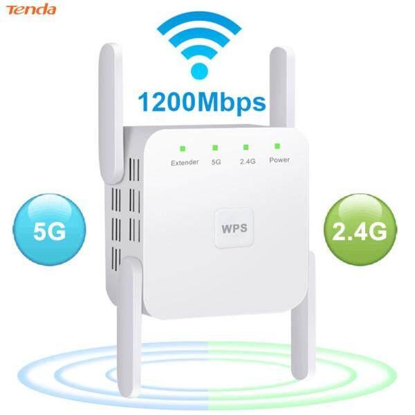 Bảng giá Bộ Khuếch Đại WiFi Bộ Lặp 4 Ăng-ten 1200M Điểm Truy Cập Tăng Cường Tín Hiệu WiFi Các Thành Phần Mạng Cắm EU Phong Vũ