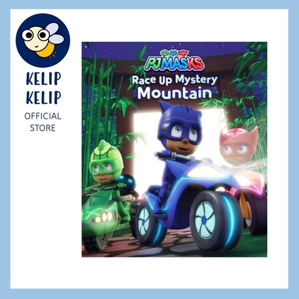 PJ Masks Race Up Mystery Mountain Picture Storybook Malaysia