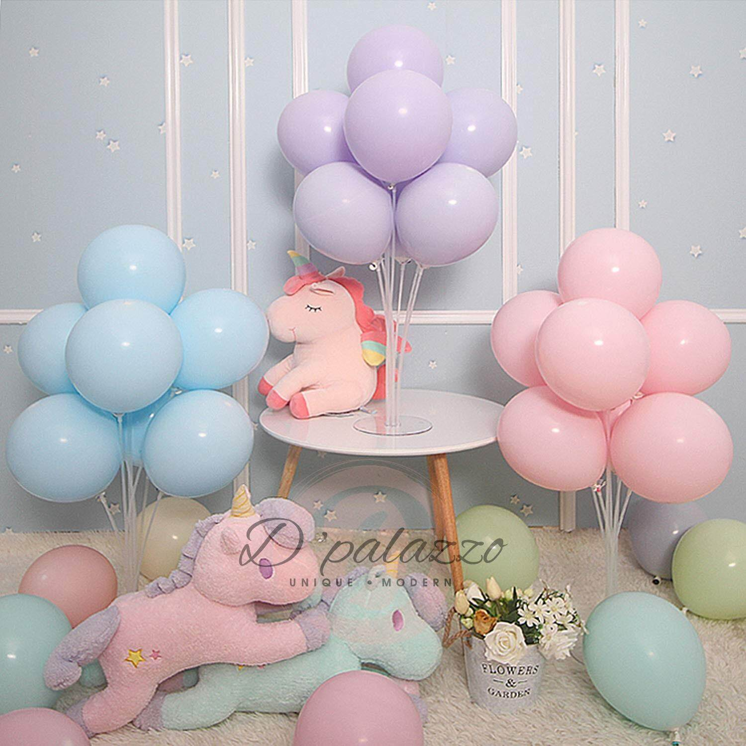10 Inch 2.4g Macaron Color Balloon Latex Balloon Ice Cream Color Party Decor By D Palazzo.