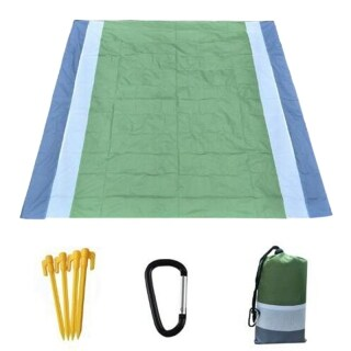 Beach Blanket Sandproof Waterprooffor 4-7 Persons Quick Drying By Premium with Portable Picnic Blankets thumbnail