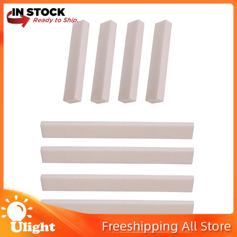Ulight 8Pack Of Blank Bridge Bone Guitar Nuts Saddle For Classical Acoustic Guitar Bass Malaysia