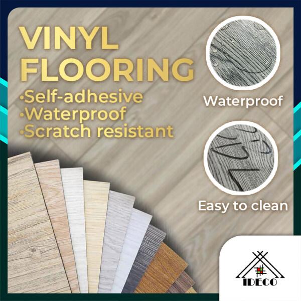 iDECO DIY Vinyl Self Adhesive Flooring 54sqft/36pcs