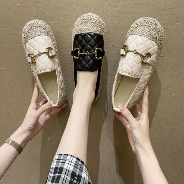 Giày Thuyền Bà Cổ Điển Cho Nữ Xăng Đan Dành Cho Nữ Dép Lê Nữ Giảm Giá Giày Đế Bằng Cho Nữ Giày Phong Cách Hàn Quốc, Giày Lười Nữ Giày Thể Thao Nữ Thời Trang Hàn Quốc 041008 giá rẻ