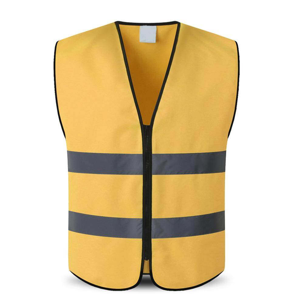 FYUP Outdoor Night Riding Running Hi-Vis Safety Vest Reflective Jacket Security Waistcoat