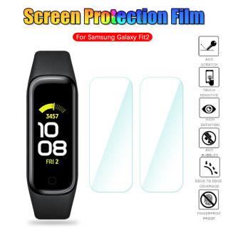 3 5Pcs Đầy Đủ Màn Hình TPU Hydrogel Phim TPU Mềm Phim Bảo Vệ Cho Samsung Galaxy Fit2 Smartwatch Miếng Bảo Vệ Màn Hình Phụ Kiện thumbnail