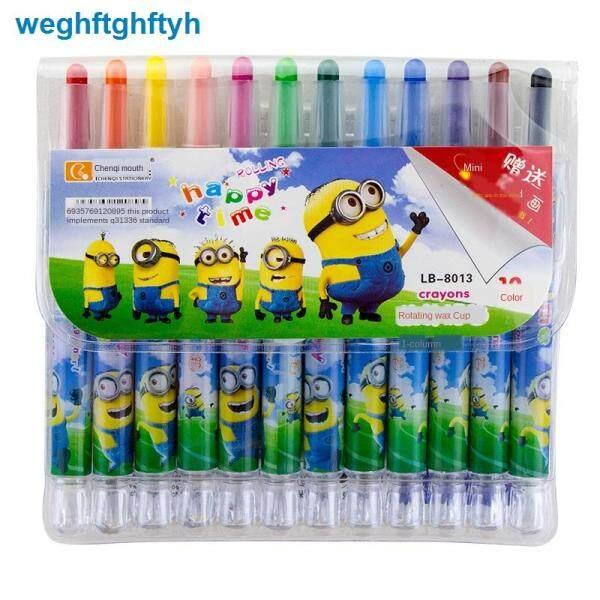 Mua [Bút Chì Màu Xoay Tay Không Bẩn] Bút Vẽ Màu Cho Trẻ Em 36 Màu, Phấn Dầu 24 Màu, Bút Màu, Bút Màu