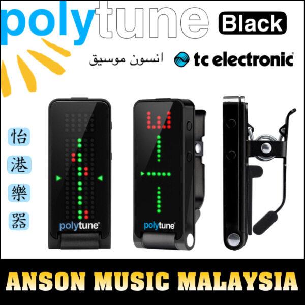 TC Electronic PolyTune Clip Clip-On Tuner, Black Malaysia