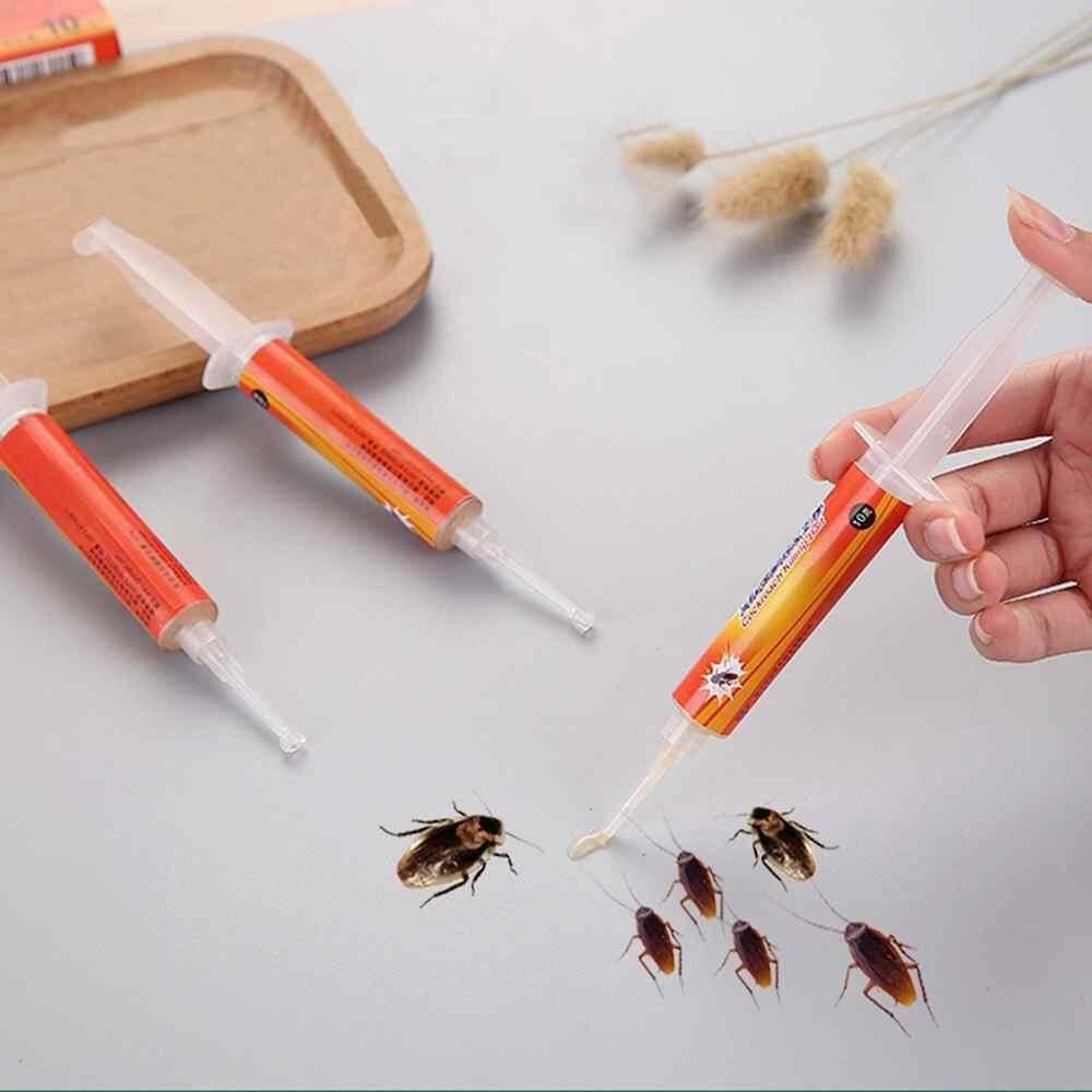 Jayoyi 2 pcs Drug Poison Nest Genuine Syringe 10g Powerful Anti Cockroach Eliminator