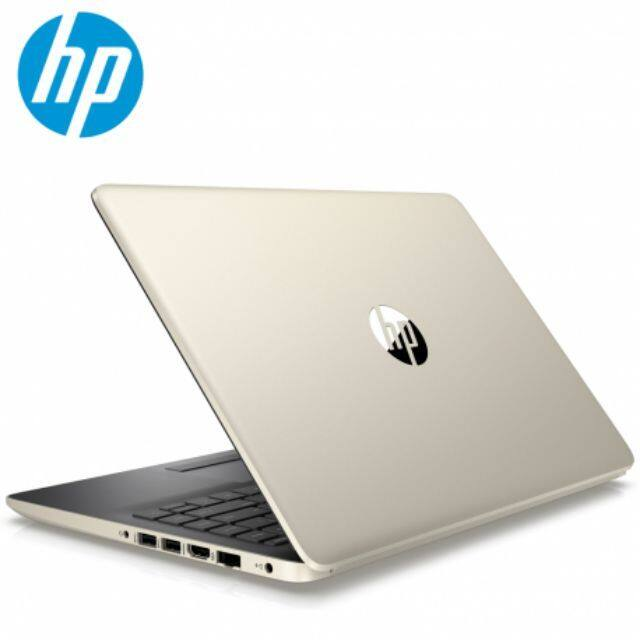 HP 14s-cf0065TU Pale Gold-Slim Bezel N4000,8GB RAM,500GB HDD,WIN10,HP BACK BAG **FREE:- 6-IN-1GIFTS with WIRELESS MOUSE Malaysia
