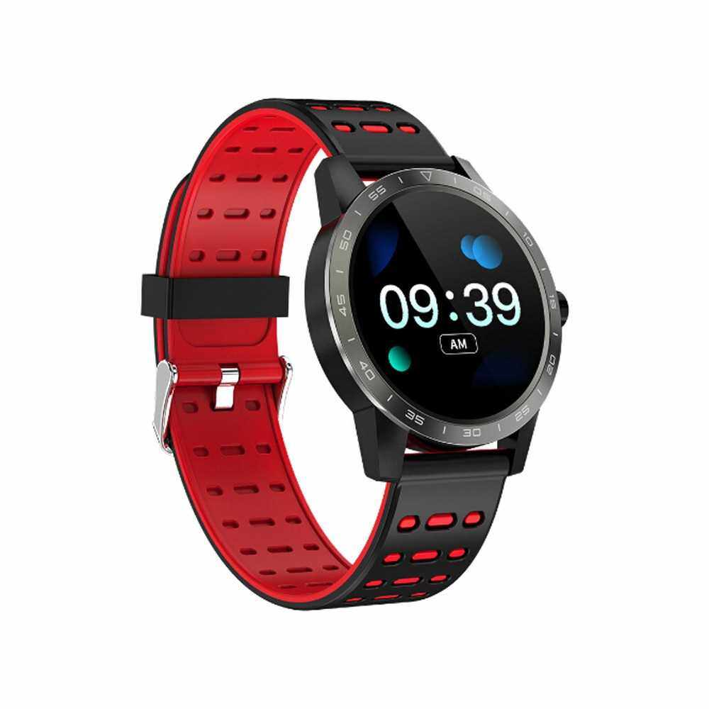 Bt Smartwatch 1.3 Inch TFT Screen Blood Pressure Heart Rate (Red)