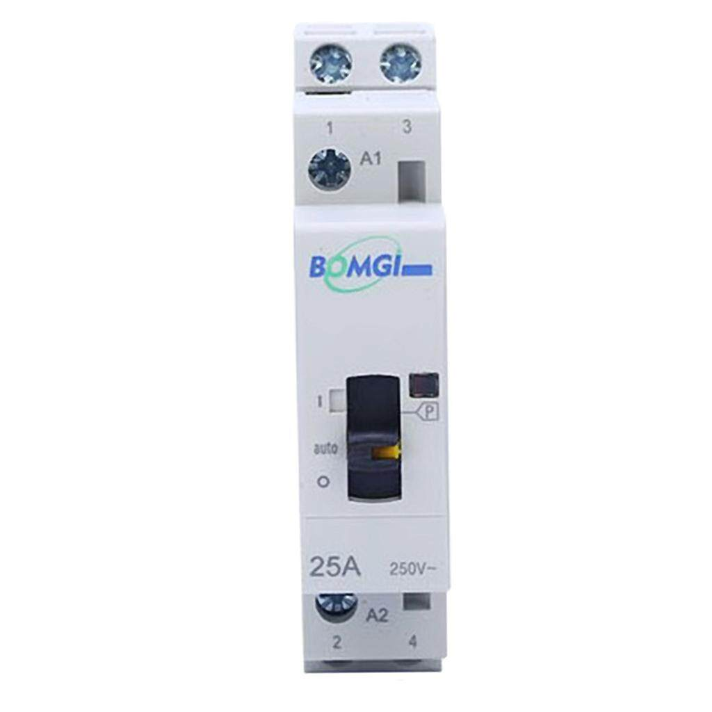 Miracle Shining AC Modular Contactor 2P 16A 2NO 230V Hand Household Contactor Din Rail Type