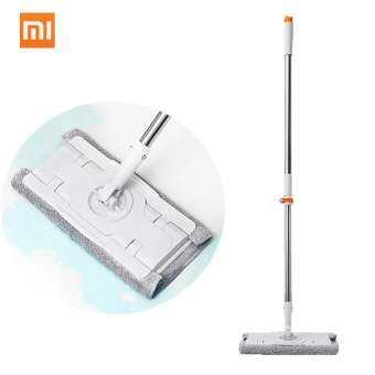 Xiaomi Mijia Jiezhiไม้กวาดไม้ถูฝุ่นกวาดฟรีปรับ360หมุนทำความสะอาด1.3M Rodอุปกรณ์ทำความสะอาดพื้นสำหรับHome Family Office