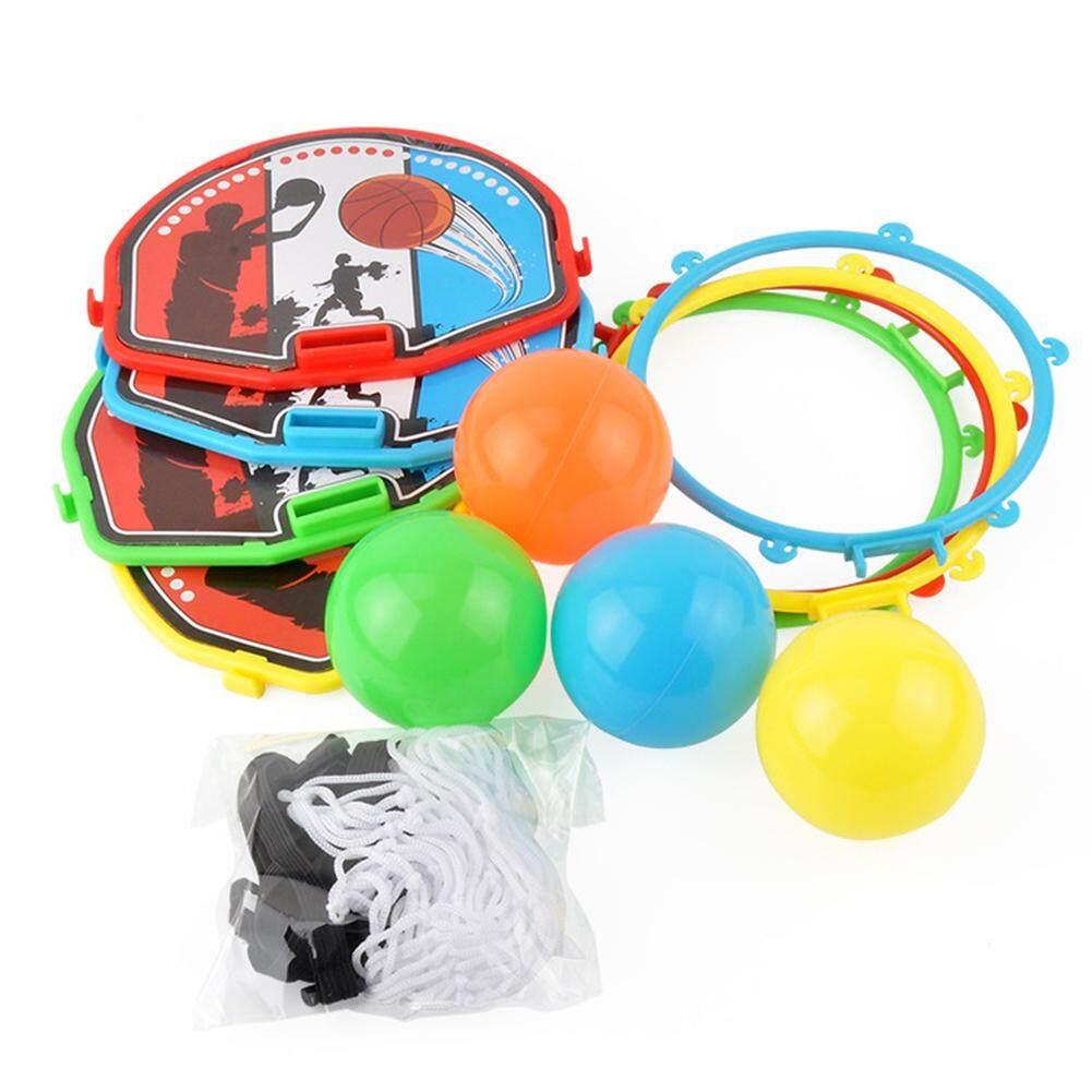 Ds เด็ก Mini หัวชั้นวางลูกบาสเก็ตบอล Woth ลูกผู้ปกครองเด็กของเล่นสำหรับสัตว์เลี้ยง By Dsstyles.