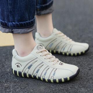 Mũi Tròn Giày Thường Ngày Nhẹ Nữ Có Dây Buộc Mới Của BS Giày Thể Thao thumbnail