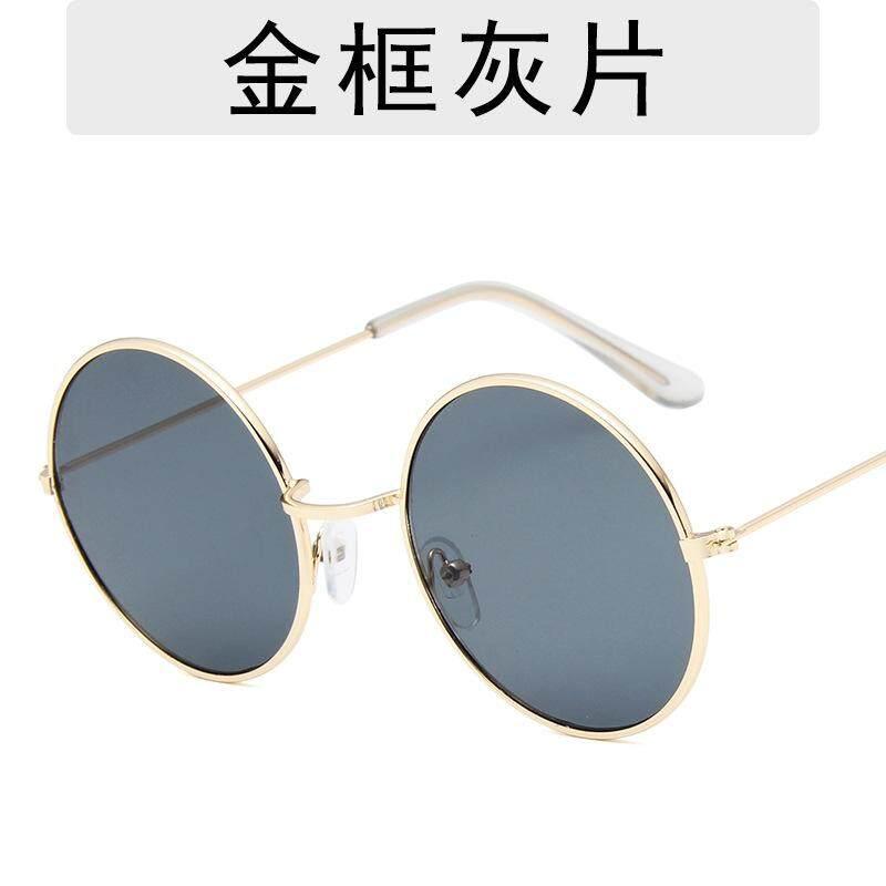 ใหม่กรอบทรงกลมแว่นตากันแดดแฟชั่นที่มีสีสัน Ocean แว่นตาแก้วผู้หญิงแว่นตากันแดดตกแต่ง By Zhangxudianpu.