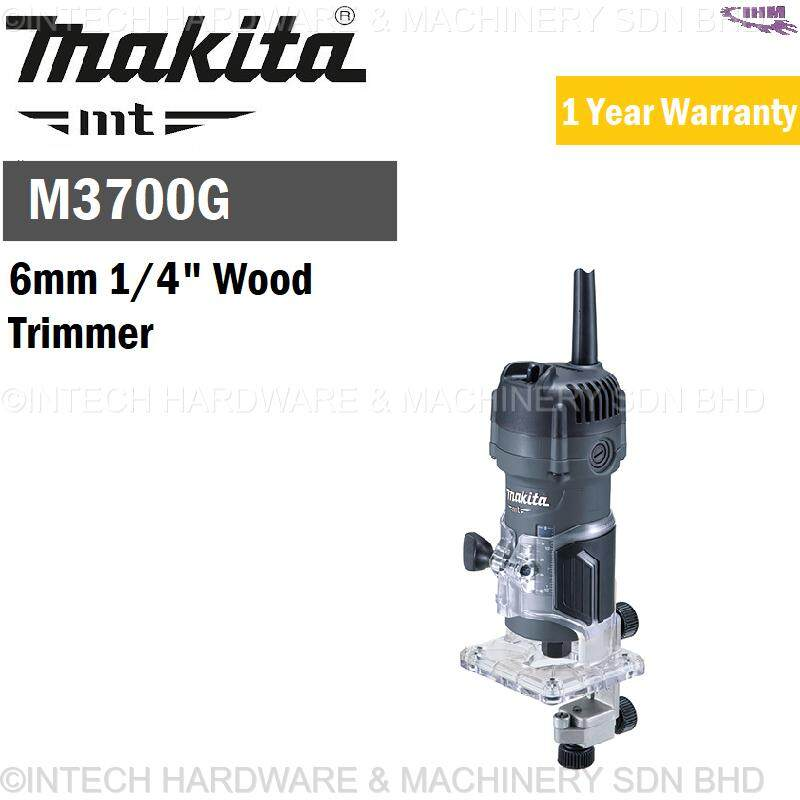 Makita M3700G 6mm 1/4 Wood Trimmer (1 Year Warranty)