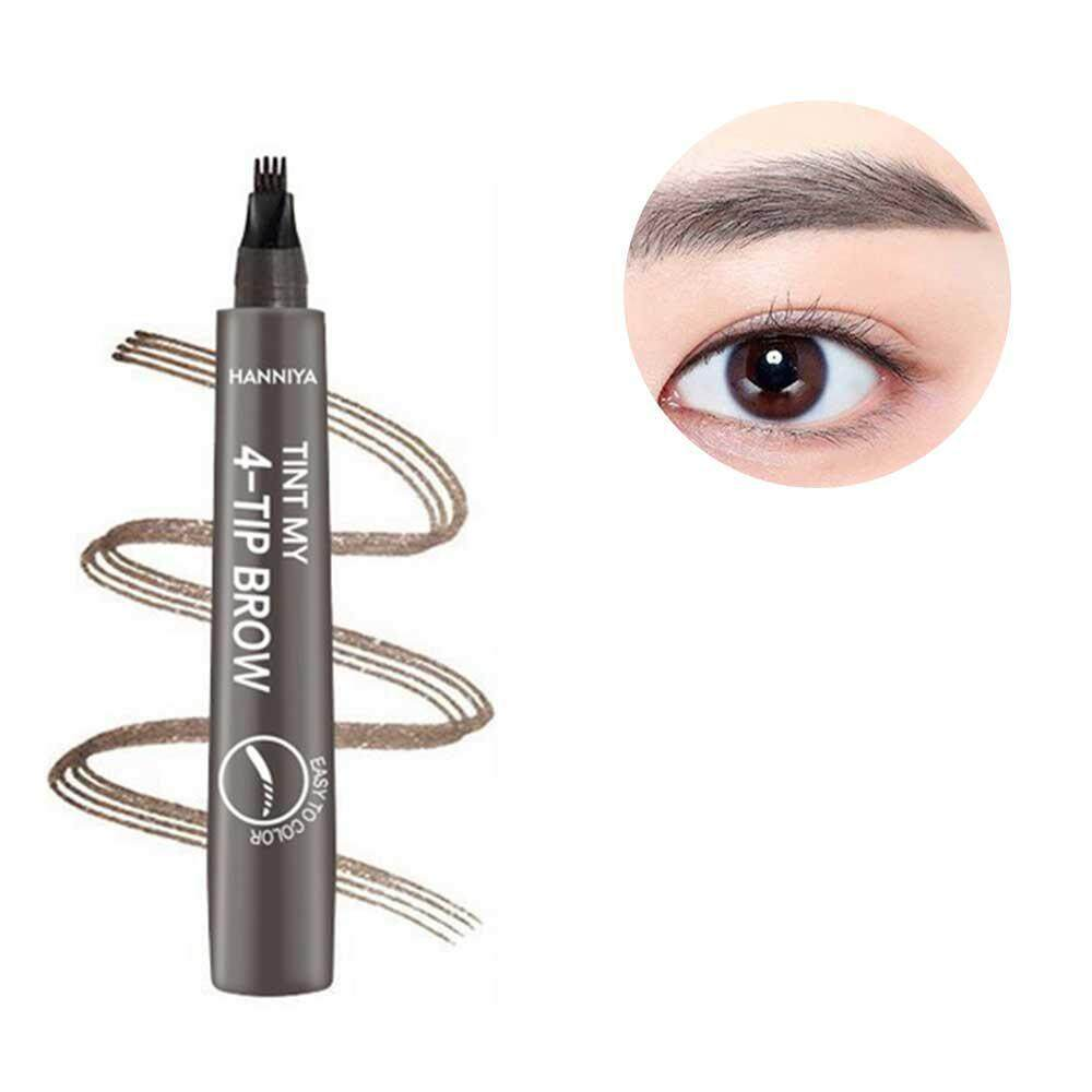 GoodGreat Liquid Eyebrow Pen,Microblading Eyebrow Marker Pencil With 4 Fork Tips Long-lasting Waterproof Smudge Proof Natural Look Brow Tint Gel for Eyes Makeup Philippines