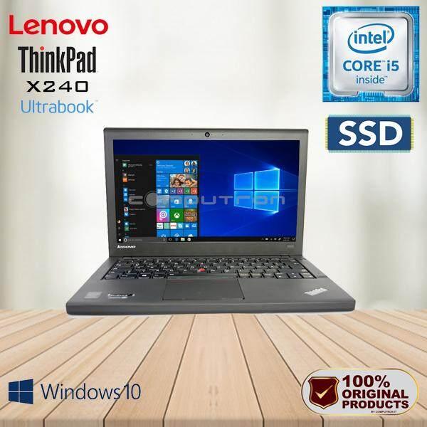 LENOVO THINKPAD X240 CORE I5 / 4GB RAM / 128GB SSD / W10PRO  [ 2 YEAR WARRANTY ] Malaysia