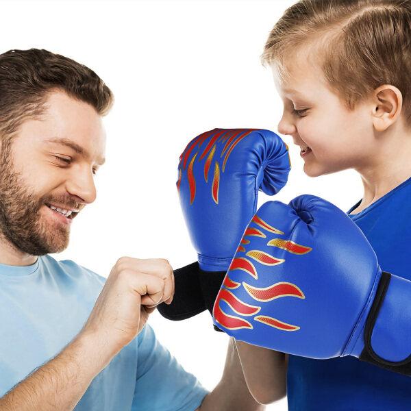 【 】HOT】Găng Tay Tập Kickboxing Trẻ Em, Đấm Bao Cát Găng Tay Đấm Bốc MMA Chiến Đấu Thể Thao