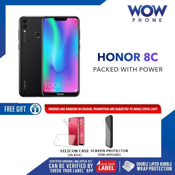 [Best Package Deal!!] Honor 8C Original Handphone (3GB RAM / 32GB ROM) 1 Year Warranty By Honor Malaysia!!