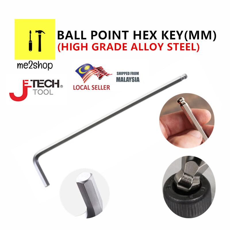 JETECH TOOL BALL POINT HEX KEY (MM) / ALLEN KEY(MM)