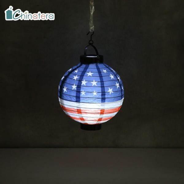 Đèn Lồng Giấy hình tròn 20cm của Mỹ, đèn treo trang trí nhà cửa, đám cưới, quà tặng đồ thủ công cho trẻ em, bằng giấy, có thể tái sử dụng