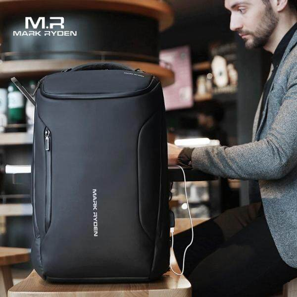 Mark Ryden Laptop Backpack Oxford Cloth 2020 New Anti-thief Waterproof Fashion Business backpack Multifunctional 15.6inch Laptop Bag USB Charging Travel Bag for Men