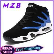 Giày thể nam MZB dùng để chơi bóng rổ thiết kế chống trượt và có đệm khí tạo cảm giác thoải mái mềm mại – INTL