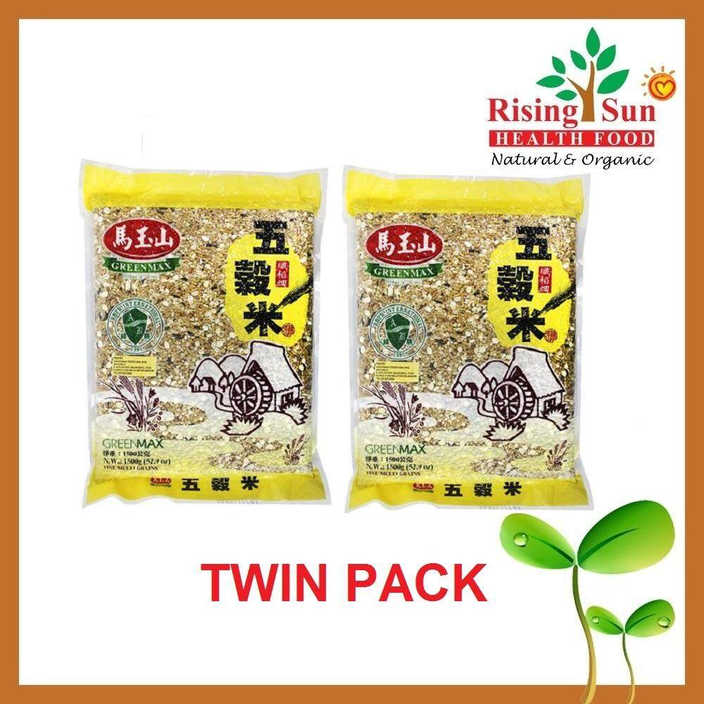 GreenMax Fine Multi Grains (1.5kg x 2) -TWIN PACK