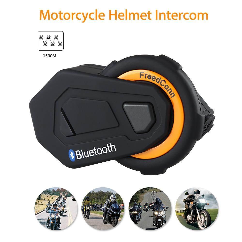 3dd1a22ff52 FreedConn T-MAX 1500M Bluetooth Motorcycle Motorbike Helmet Intercom  Interphone Headset FM Radio Wireless 6