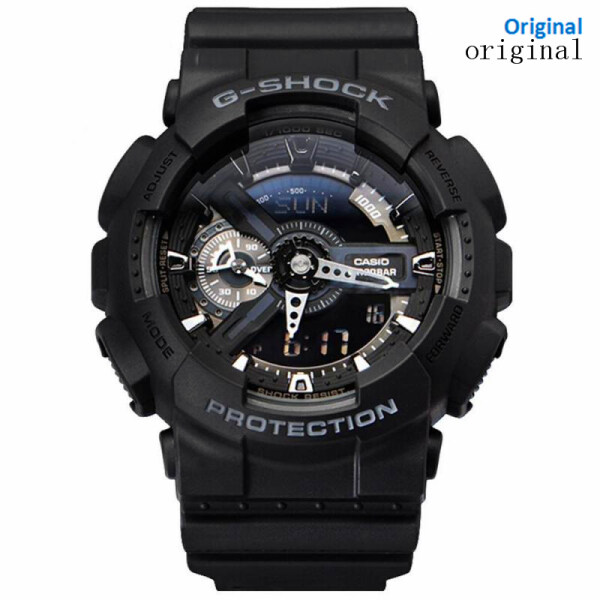 2020 (Free Shipping) Original G Shock GA-100CF-1A Men Sport Watch Duo W Time 200M Water Resistant Shockproof and Waterproof World Time LED Auto Light Wrist Sports Watch with 2 Year Warranty GA110 GA-110 Malaysia