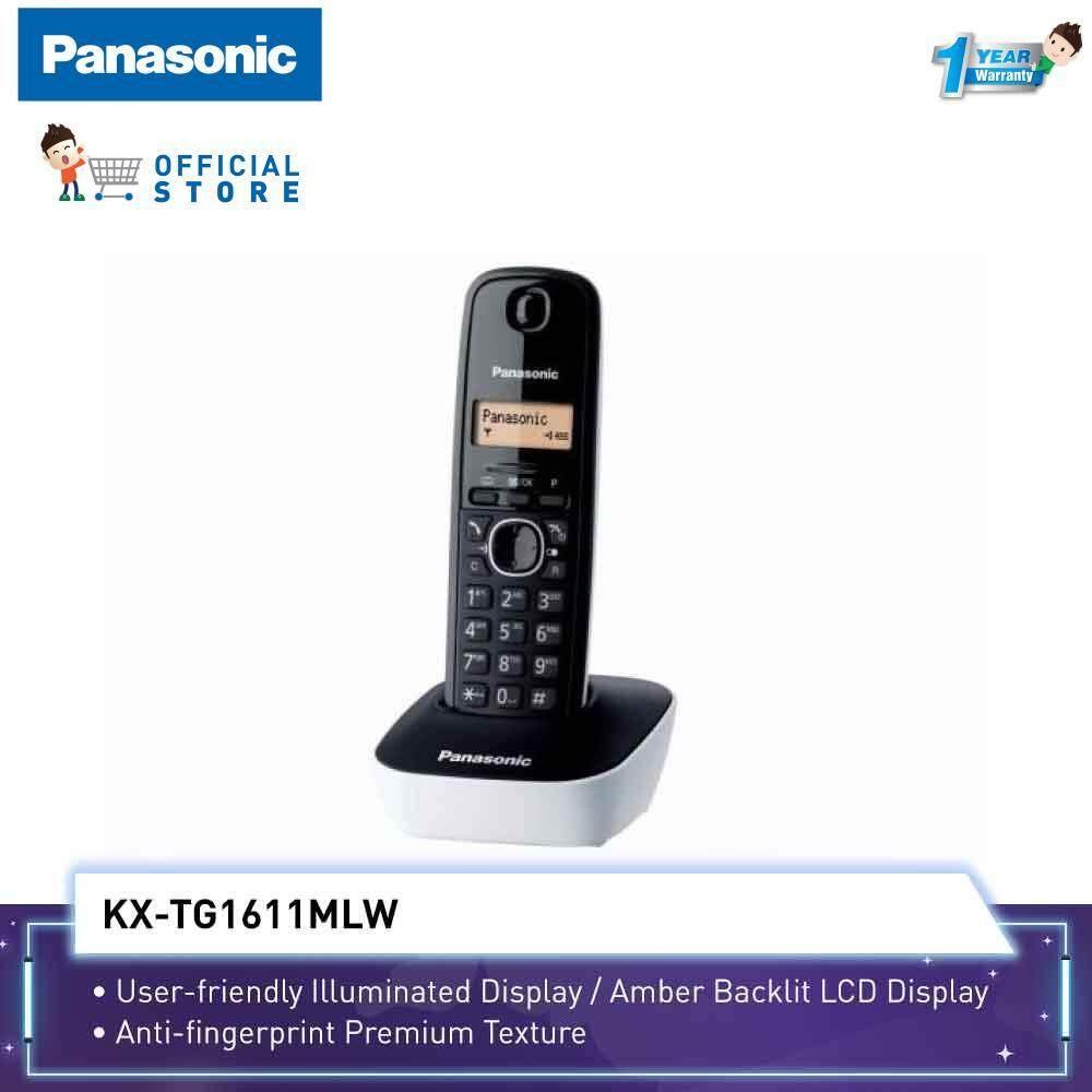 d2c7849d8e1 Panasonic Cordless Phone KX-TG1611ML 3 Ways Conference Call