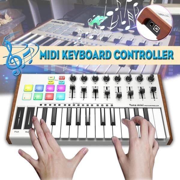 WORLDE TUNA MINI Ultra Portable 25 Keys USB MIDI Keyboard Controller - Malaysia