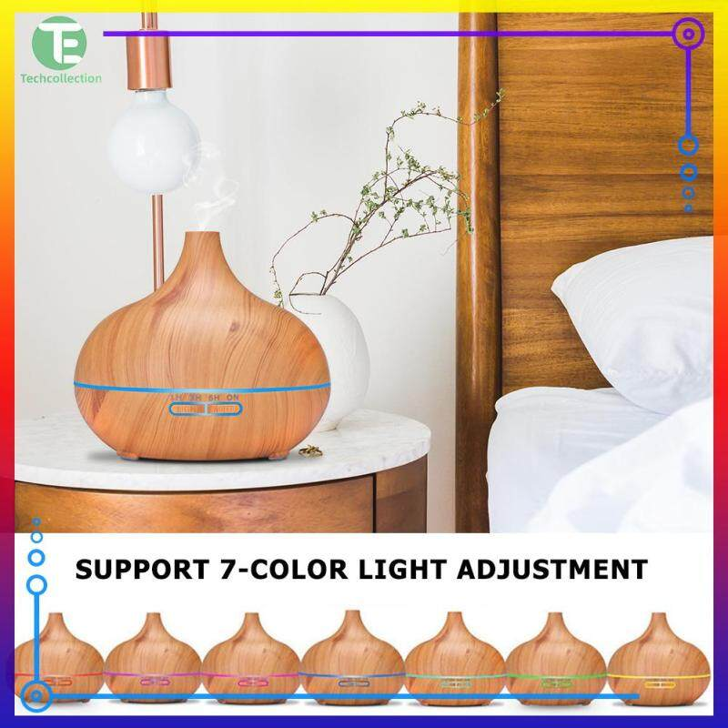 【Techcollection】Fashion Onion Essential Oil Diffuser Silence Bedroom Electric Air Humidifier for Car Home Office Singapore