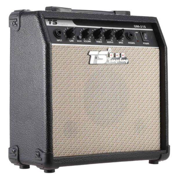 NEW GM-215 Professional 15W Electric Guitar Amplifier Amp Distortion with 3-Band EQ 5 Speaker Malaysia