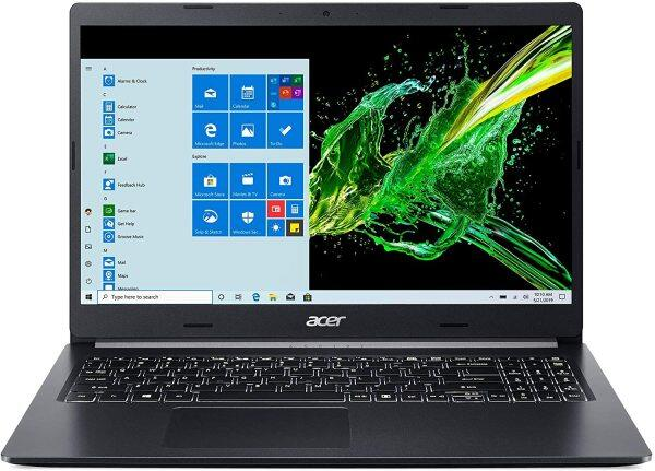Acer Aspire 5 A515-55-56VK, 15.6 Full HD IPS Display, 10th Gen Intel Core i5-1035G1, 8GB DDR4, 256GB NVMe SSD, Intel Wireless WiFi 6 AX201, Fingerprint Reader, Backlit Keyboard, Windows 10 Home Malaysia