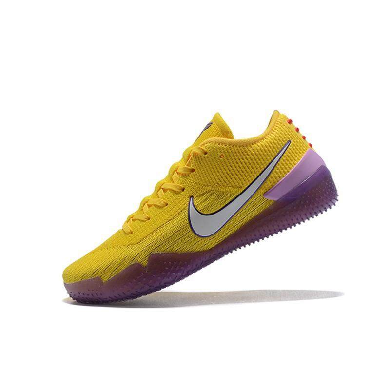 Ready To Stock Hot Sale Fashion FAST Basketball Nike_original_Kobe_AD NXT 360 Mamba_Day Anti-slip Breathable Sports Sneakers