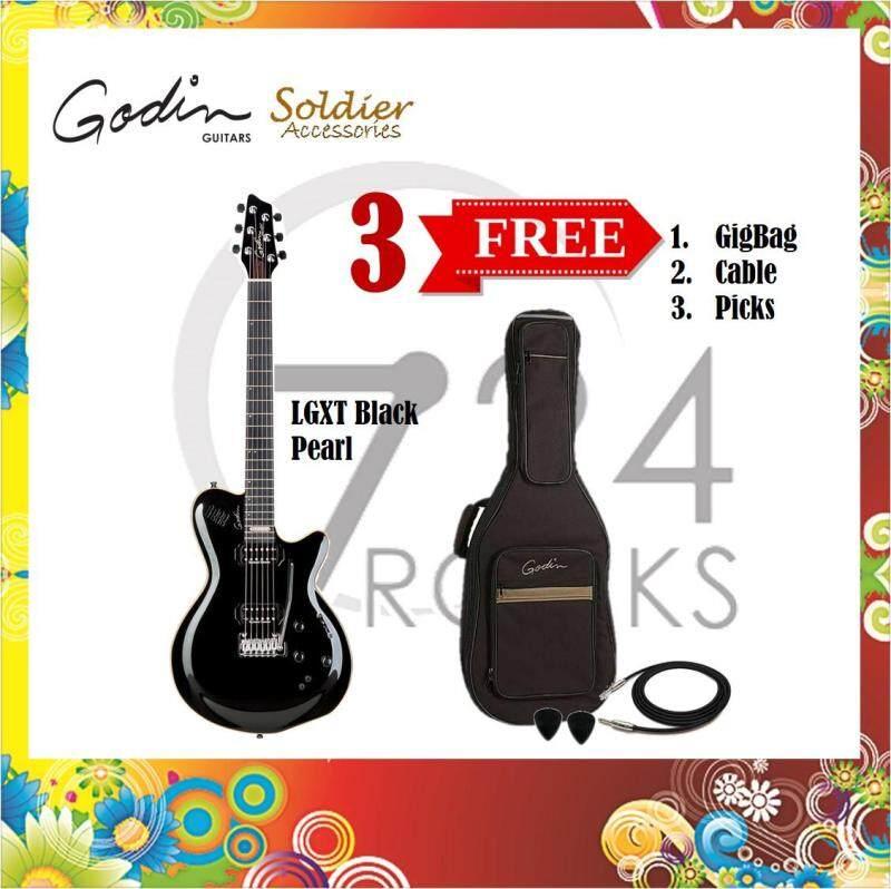 Godin LGXT Black Pearl Multi Voice Electric Guitar Malaysia