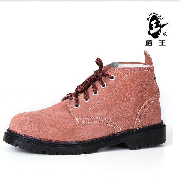 Dingwang 9788x7 Pabrik Aluminium Anti-Smashing Sepatu Keselamatan Kepala Baja Perlindungan Tenaga Kerja Sepatu Sepatu Kerja Tenaga Kerja Karet Pelindung Sol Anti- Minyak By Weisheng Go Store.