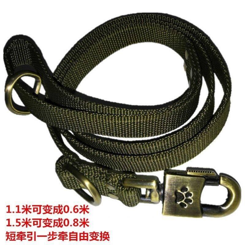 ❖☇Dây kéo nylon ngựa giống lớn trên chó Golden Retriever của bạn Dây Xích Chó dày Dây Xích Chó cỡ trung bình