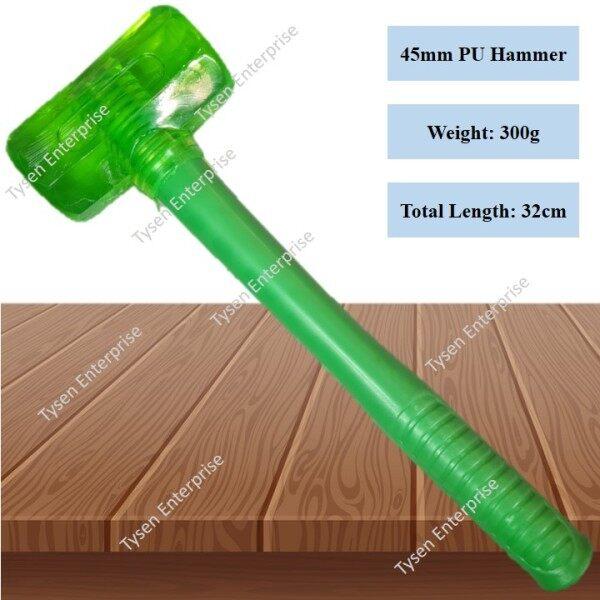Green Color PU Hammer (Dead Blow Hammer) Octagon Design Hammer