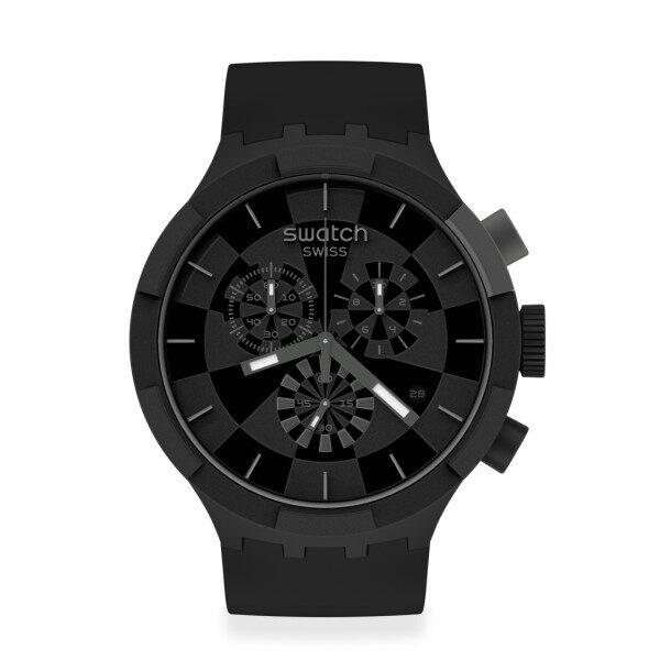 Swatch CHECKPOINT BLACK Watch 47mm SB02B400 Malaysia