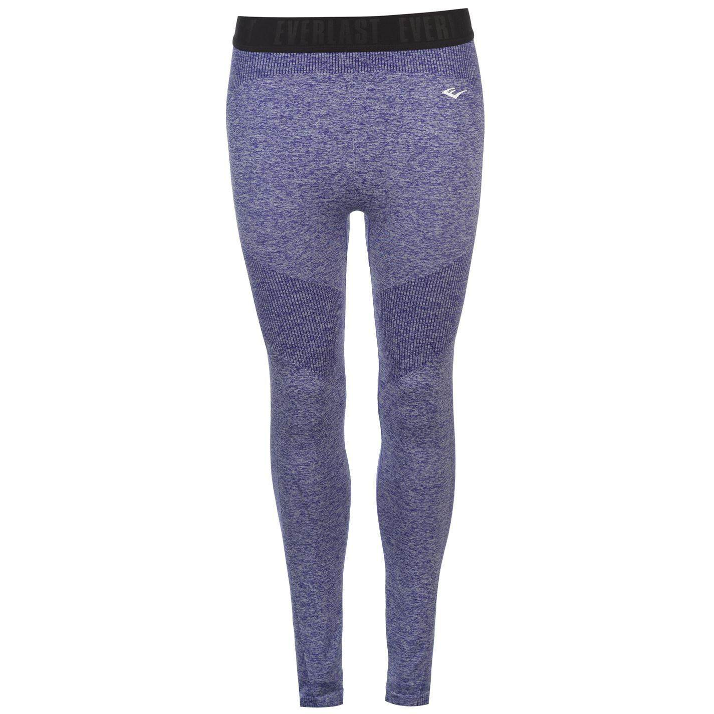 Everlast Womens Seamless Tights (blue Marl/black) By Sports Direct Mst Sdn Bhd.