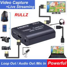 Máy Quay Phim DVD Ghi Hình Trò Chơi HDMI Quay Video Trực Tiếp Ghi Hình Camera Video Grabber Ghi Hình Thẻ Ghi Hình