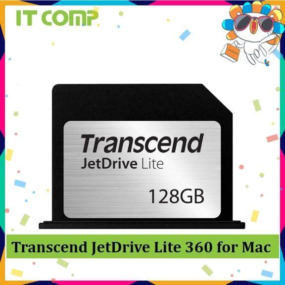 Transcend JDL360 Expansion Card JetDrive Lite 360 for Mac 128GB/256GB (TS128GJDL360 / TS256GJDL360)